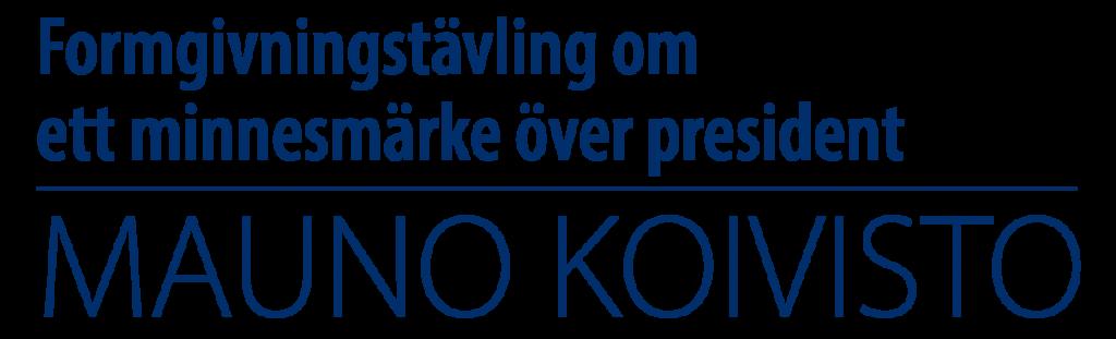 Formgivningstävling om ett minnesmärke över president Mauno Koivisto - logo